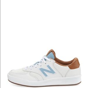 New Balance White Leather Court Sneaker 10 NWT